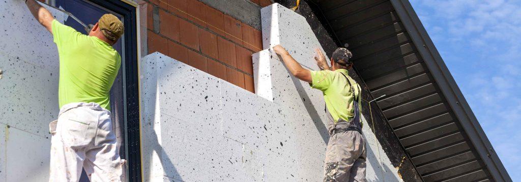утеплення та оздоблення стін будинків